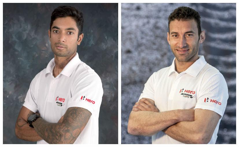 HMTR members CS Santosh and Joquim Rodrigues