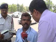 दिल्ली में डीजल टैक्सियों पर कार्रवाई शुरू, कई गाड़ियों का हुआ चालान