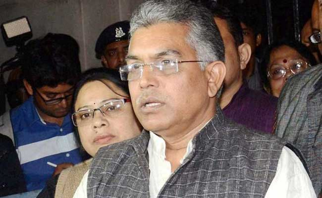 Trinamool Congress Resorting To Violence Against BJP Workers: Dilip Ghosh