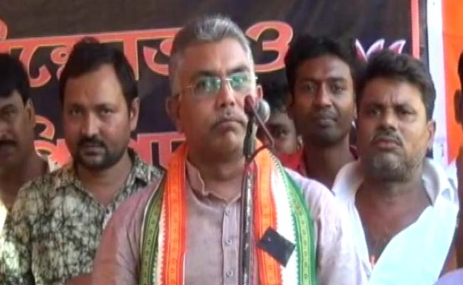 Beat Up Cops, Trinamool Workers If Attacked: Dilip Ghosh To BJP Activists