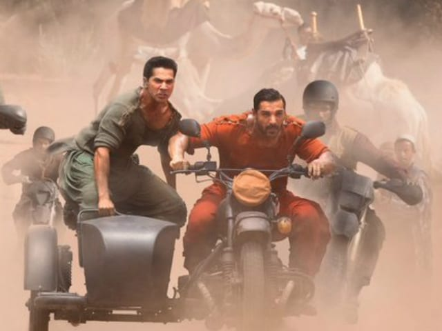 Dishoom Poster: Varun Dhawan, John Abraham's Power-Packed Swag