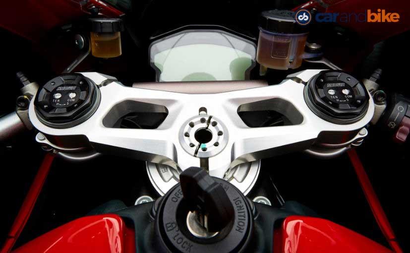 Ducati 959 Panigale Instrument Console