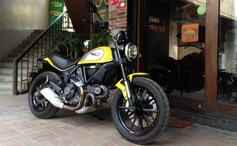 Ducati Scrambler Icon Long Distance