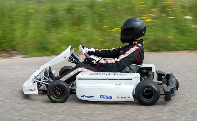 an electric go kart that goes from 0 100km h in under 5. Black Bedroom Furniture Sets. Home Design Ideas