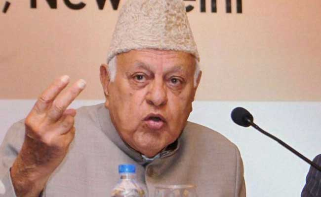 Autonomy Only Solution To Resolve Kashmir Issue: Farooq Abdullah