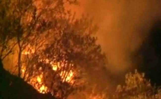 Hundreds Evacuated Due To Forest Fires In Southern Spain
