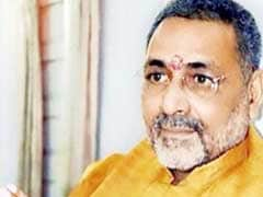 Pakistan Should Take Away Rohingya Refugees: Union Minister Giriraj Singh