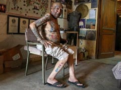 For World Records, Man From Delhi Removes Teeth And Gets Over 500 Tattoos