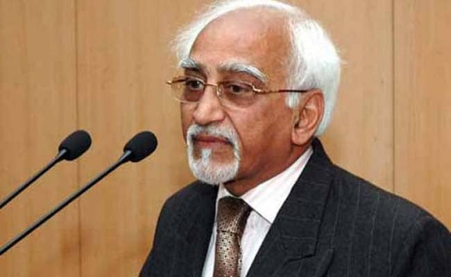Vice President Hamid Ansari Returns Home After Concluding 2-Nation Africa Visit