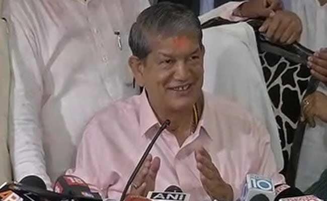 Harish Rawat Addresses Media After Returning To Power: Highlights