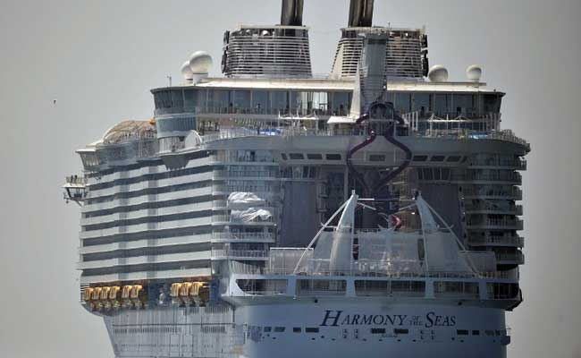 Biggest-Ever Cruise Ship Harmony Of The Seas Is Longer Than Eiffel Tower's Height