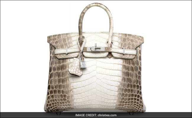 23675ab1e8a Diamond-Encrusted Hermes Handbag Sold For Record  300