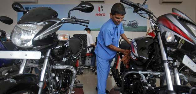 Hero MotoCorp Domestic Sales Rise 7.5% In August