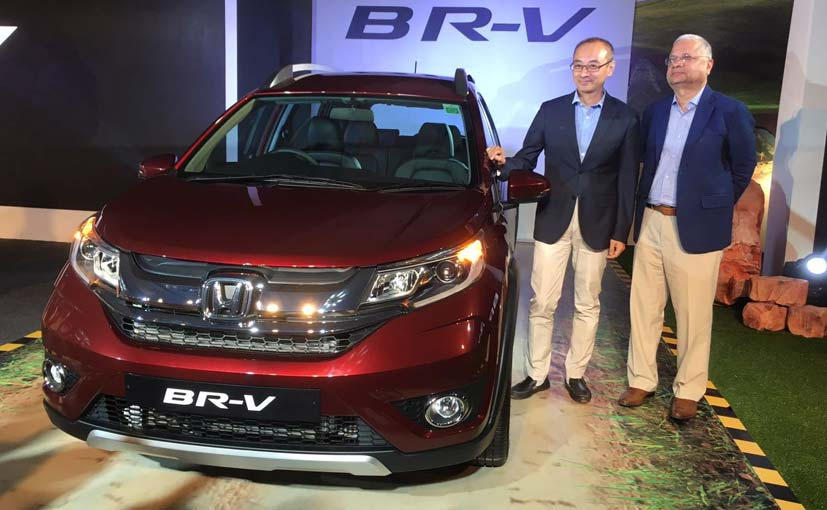 Honda BR-V Compact SUV Launched in India; Price Starts at &#8377 8.75 Lakh