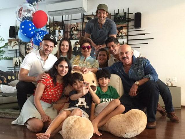 Hrithik Roshan Shares 'Screaming' Selfie on Son Hridhaan's Birthday