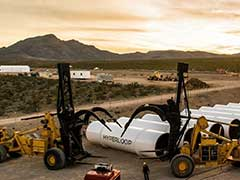 Hyperloop One Passenger Pod Hits 310 kmph