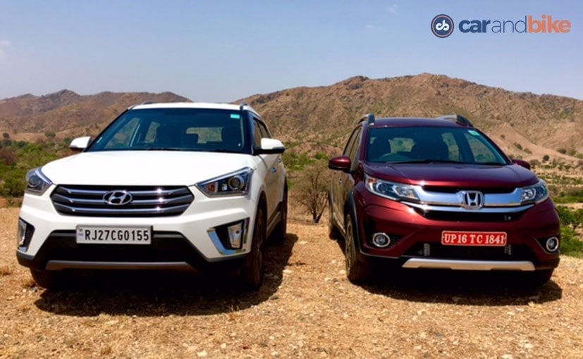 Comparison Review: Honda BR-V vs Hyundai Creta - NDTV ...