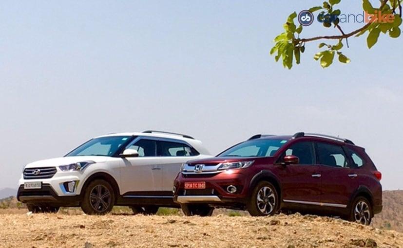 Hyundai Creta vs Honda BRV