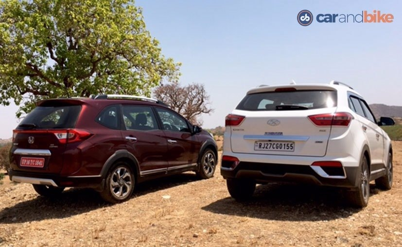 Hyundai Creta vs Honda BRV Rear Profile