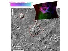 Volcanoes Erupted Under Ice Sheet On Ancient Mars