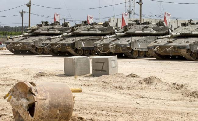 Israel Strikes Gaza After Missile Across Border: Army