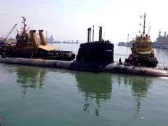 Kalvari Stealth Submarine Sails Out Of Mumbai Harbour For Sea Trials