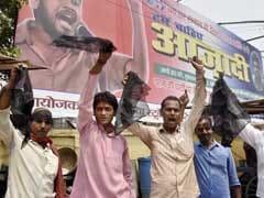 JNU Students' Union President Kanhaiya Kumar Shown Black Flags In Patna