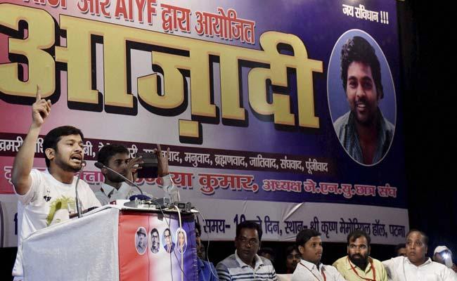 I'm Colour Blind, Just Saw Saffron: Kanhaiya Kumar On Black Flags In Patna