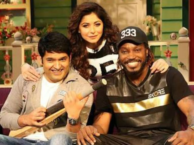 Kapil Sharma's 'New Friend' is None Other Than Chris Gayle