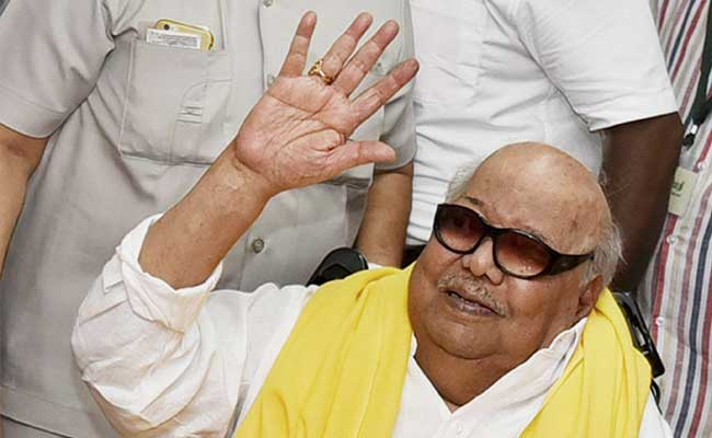 DMK To Unveil Life-Size Statue Of M Karunanidhi Next Month