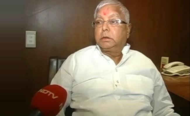 बीजेपी के नेता आसाराम के चेले-चपाटी हैं, यूपी में इनकी कहीं लहर नहीं : लालू प्रसाद यादव