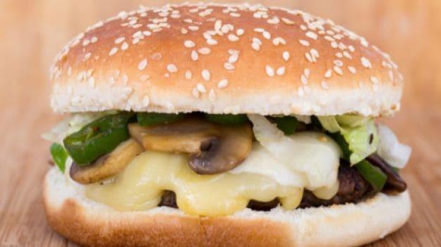 lentil mushroom burger