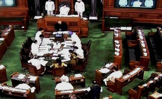 Lok Sabha Adjourns For The Day After Obituary References