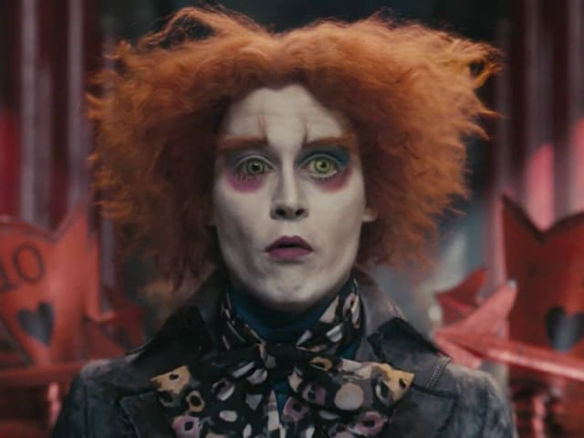 Johnny Depp Makes The Mad Hatter Believable, Says Sacha Baron Cohen