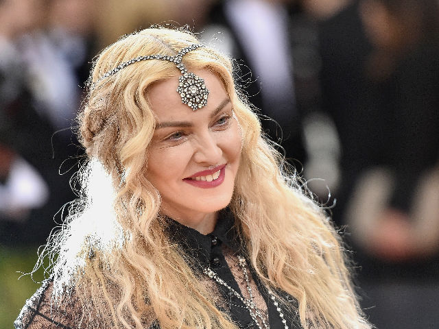 Madonna's Racy Met Gala Dress Was a 'Political Statement'