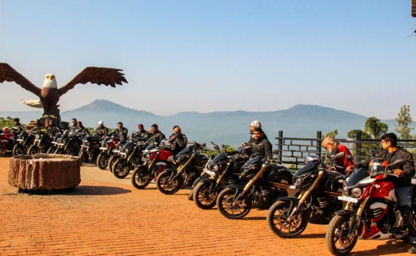 Mahindra Organises Jungle Trail Experience for Mojo Owners