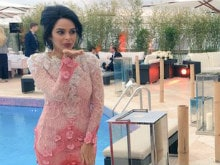 Cannes 2016: Mallika Sherawat Attends UNICEF Dinner