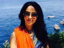 En Route Cannes, Mallika Sherawat Tweets Pic of the Eiffel Tower
