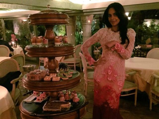 Cannes 2016: Mallika Sherawat Attends UNICEF Dinner
