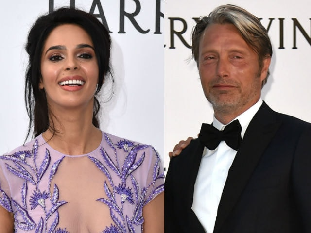 Cannes 2016: Mallika Sherawat's Selfie Moment With Mads Mikkelsen