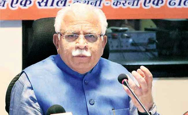 Haryana Chief Minister Manohar Lal Khattar Unveils Electricity Bill Surcharge Waiver Scheme