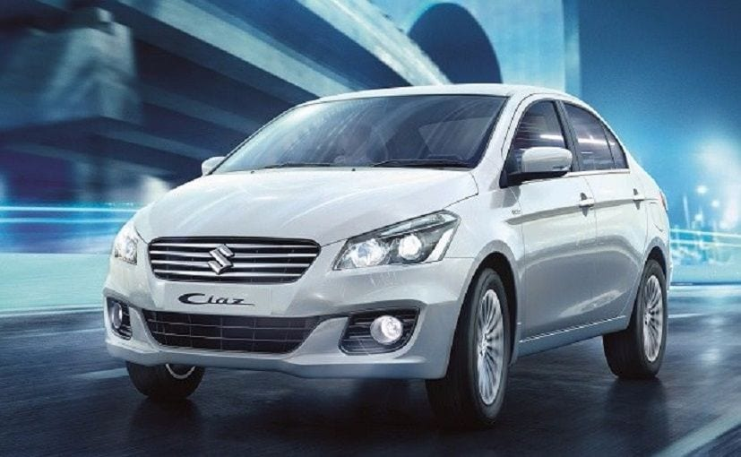 Rise Com Loan Reviews >> Maruti Suzuki Ciaz Sales Drop By 27.2 Per Cent In April 2018 - NDTV CarAndBike