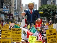 May Day Rally In Los Angeles Features Strong Anti-Trump Theme