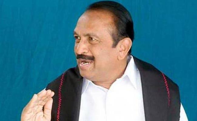 Vaiko Set To Return To Parliament After 15 Years, With Help From DMK