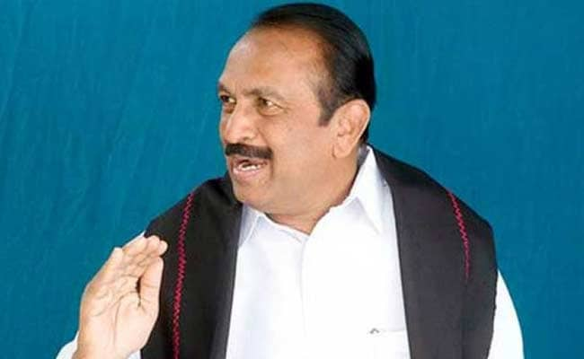 MDMK Names Ganeshamurthi As Candidate For Erode Lok Sabha Seat