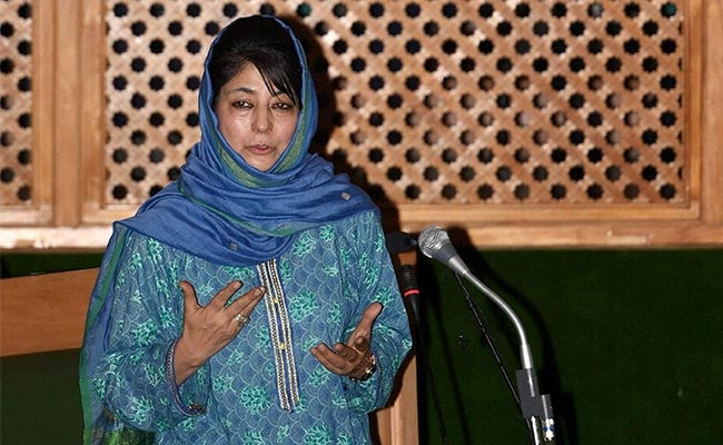 'Cat And Pigeon' Analogy Distorted: Mehbooba Mufti On Kashmiri Pandits