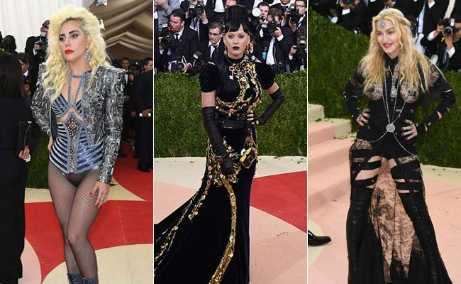 You Won't Believe What These Celebs Wore To Met Gala Red Carpet