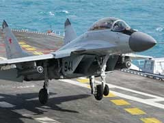 Parts Of Crashed MiG-29K Aircraft Found, Search For Pilot On: Navy