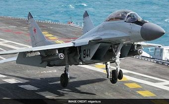 Navy MiG-29K Wreckage Indicates Missing Pilot Did Eject, Search Continues