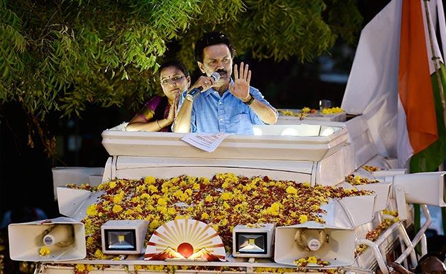 MK Stalin's Spirited Campaign Makes It A Close Contest In Tamil Nadu